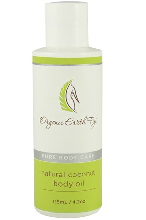 Natural Coconut Body Oil
